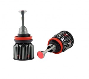 Z8 Tricolor Canbus LED Cree auto koplamp 100W 11600LM 6000K (H4/H7/H8/H9/H11)