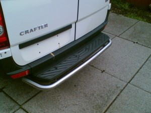 Rear-bar Mercedes-Benz Sprinter ('06-'18), L2+L3+L4
