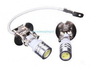H3 High Power LED Cree Mistlicht ( set van 2 stuks)