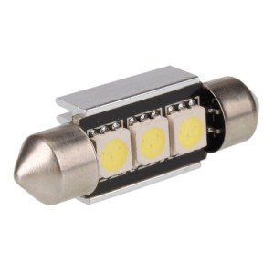 39mm Canbus festoon SMD LED C5W wit 3 leds